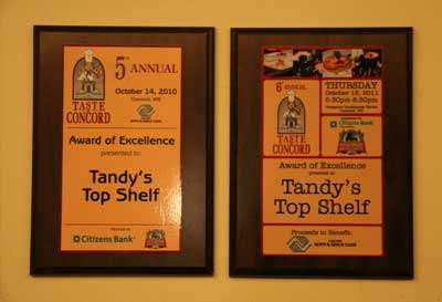 tandys best of awards
